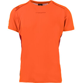 La Sportiva Blitz Running T-shirt Men orange/red